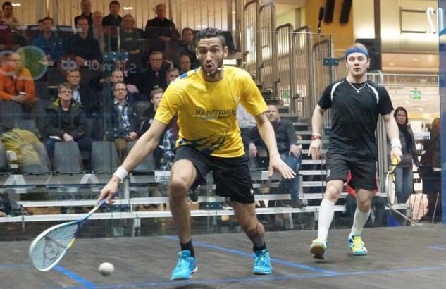 Declan James in action