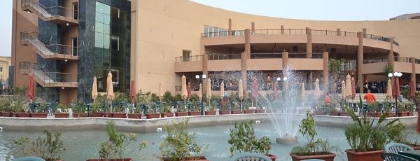The Wadi Degla club in Cairo, venue for the recent Women's World Championship