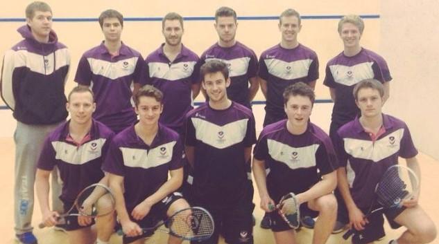 Coach Josh (back left) and his Loughborough University squad