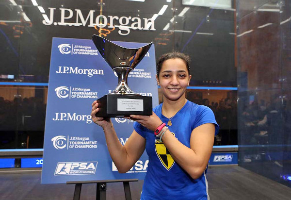 Raneem will aim to repeat her success at the Tournament of Champions in New York