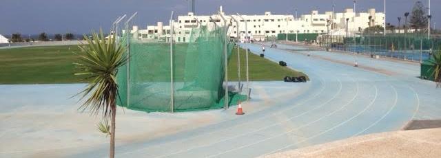 The running track at Club La Santa