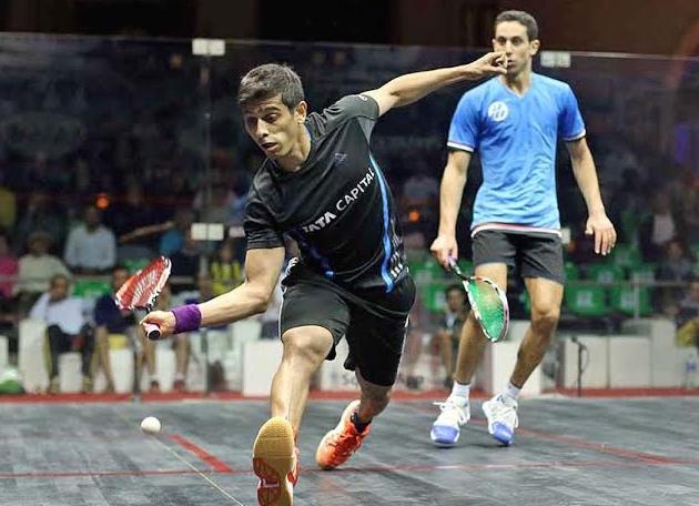 Saurav Ghosal upsets Tarek Momen