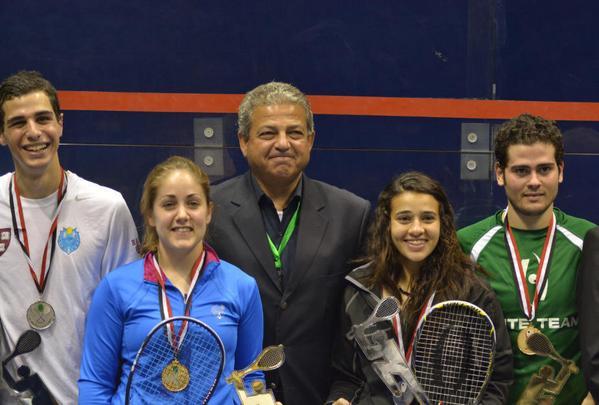 Sharm El Sheikh champion Tesni Evans (blue top)