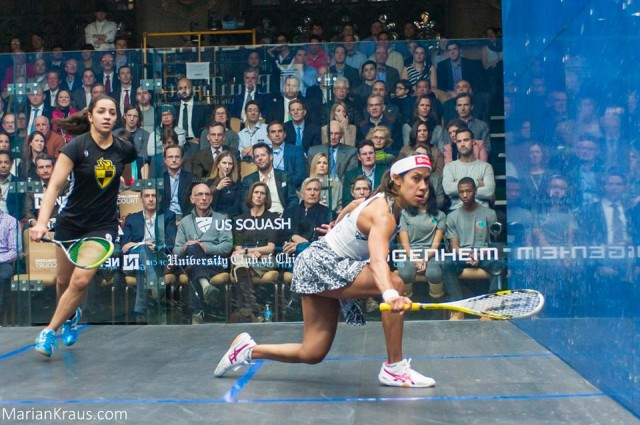 Nicol David is the top seed in Alexandria