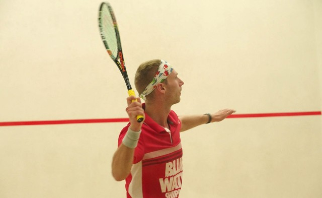 Kristian Frost in action