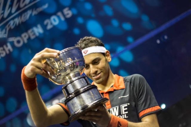 Mohamed Elshorbagy wins the British Open for the first time