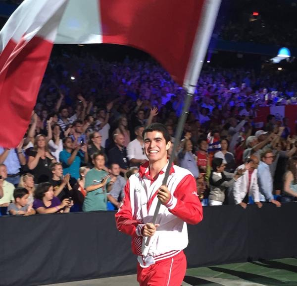 Diego Elias will be flying the flag for Peru as he bids to retain his world junior title
