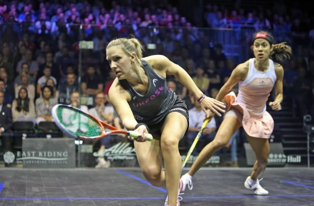 Laura Massaro is looking forward to playing with a lower tin