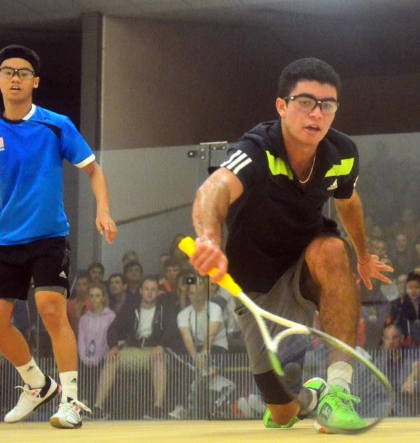 Diego Elias dominates against Eain Yow