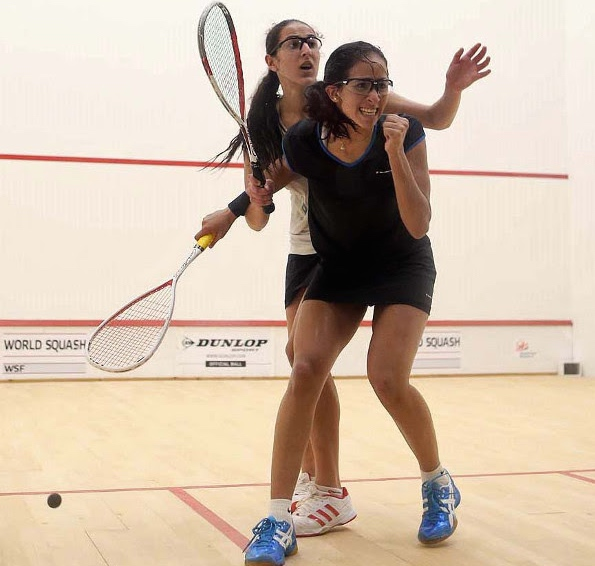 The moment of victory for Nouran Gohar
