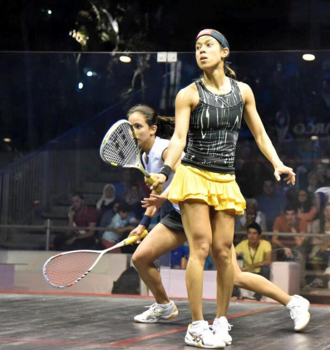 Tough time for Nicol David as she loses to Nouran Gohar