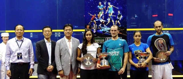 Trophy time in Shanghai