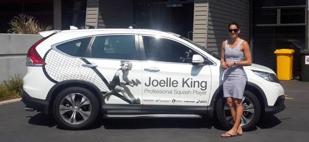 After months out injured, Joelle is ready to hit the road again