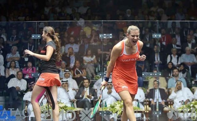Laura Massaro will be world number one when she competes in the ToC