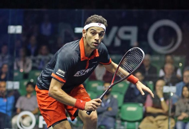 Top seed Mohamed Elshorbagy started his campaign strongly