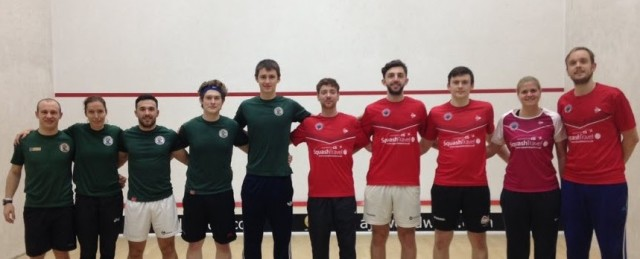 James Willstrop (far right) won the decider for Pontefract