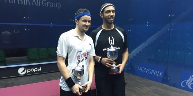 Omar Meguid and Jens Schoor in Qatar