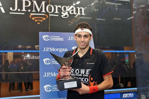 Reigning champion Mohamed Elshorbagy will be top seed in January
