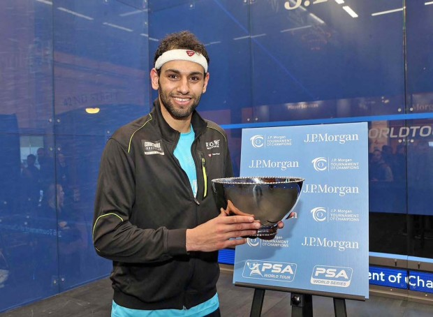 After winning the Tournament of Champions, Mohamed Elshorbagy will be keen to do well in Colombia
