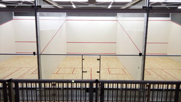 The ASB courts pictured at the Pan-Am Games