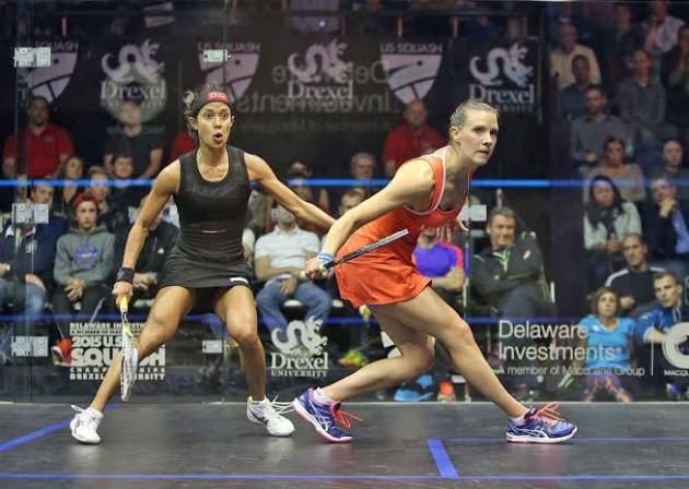 Laura Massaro beats Nicol David in the US Open