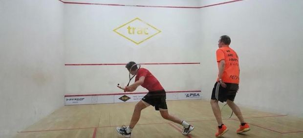 In goes the drop shot from Mark Fuller against The Stallion