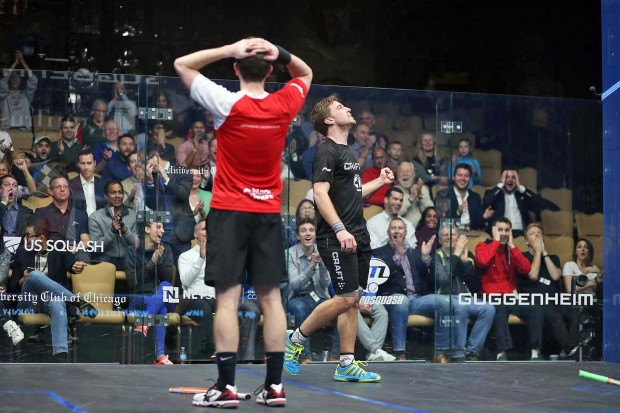 What a rally! An amazing cameo that sums up the raw excitement of squash ...