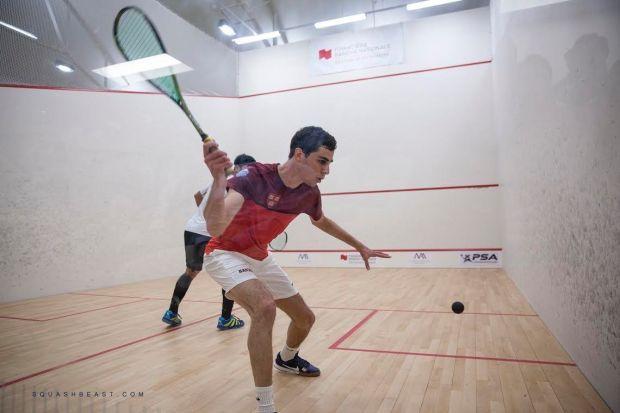 Ali Farag overcomes Nafiizwan Adnan