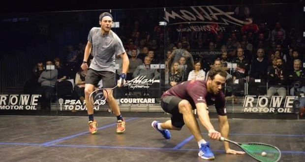 Sure to impress: Ramy Ashour is one of many stars you can watch live on TV today