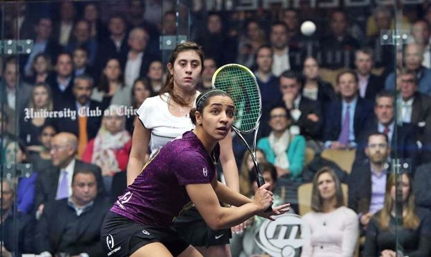 Raneem El Welily has her eye on the prize