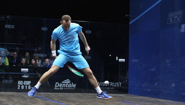 Gregoire Marche is on the ball in Zurich