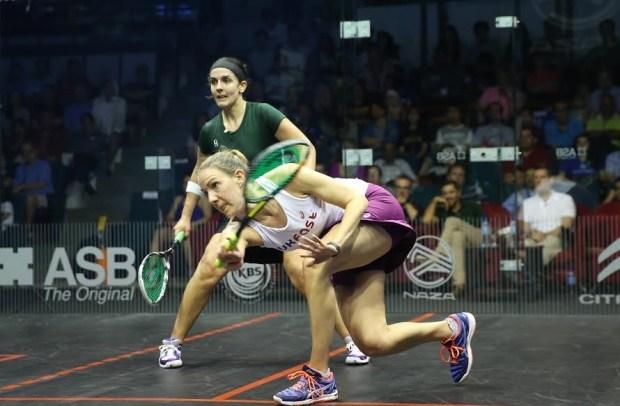 Laura Massaro on the attack against Omneya Abdel Kawy