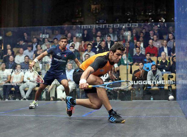 Omar Mosaad has climbed to three in the world