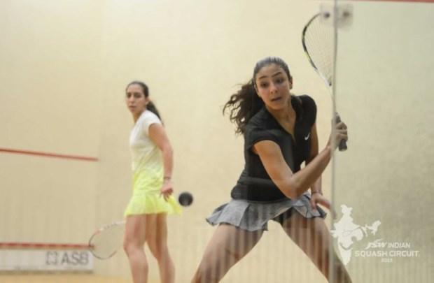 Hania El Hammamy in action in India