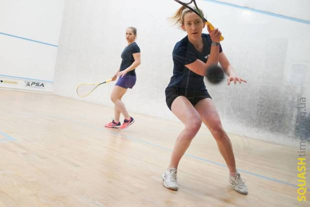 Millie Tomlinson in action