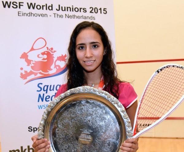 Nouran Gohar, reigning world junior champion