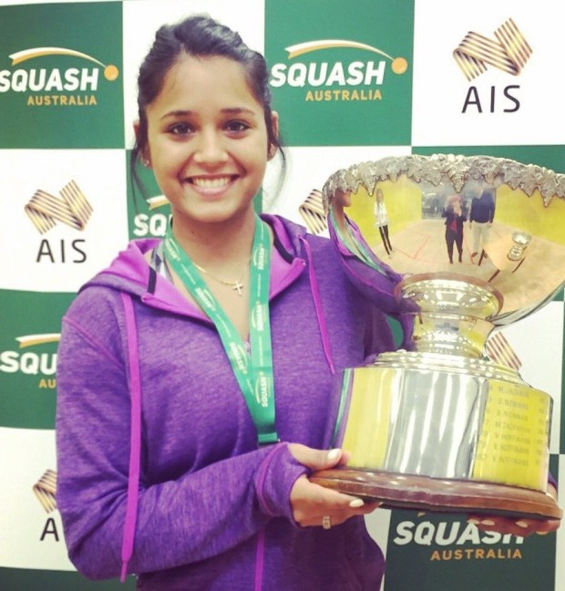 Dipika Pallikal Karthik wins the Australian Open