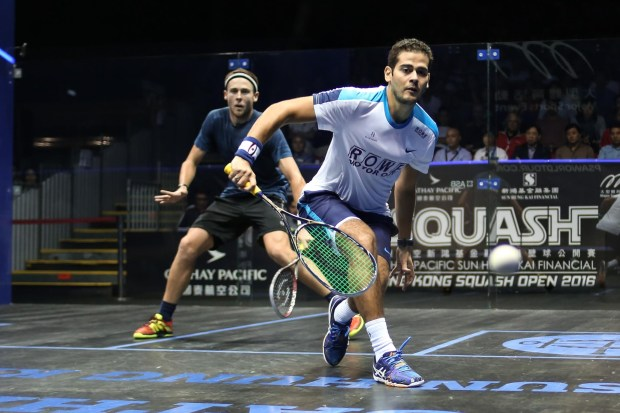 Gamal Awad reaches the final by beating Ryan Cuskelly
