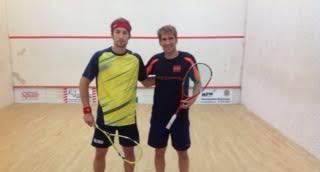 All set before the men's final at Maidstone