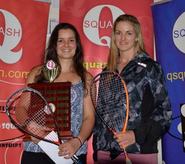 Champion Amanda Landers-Murphy and runner-up