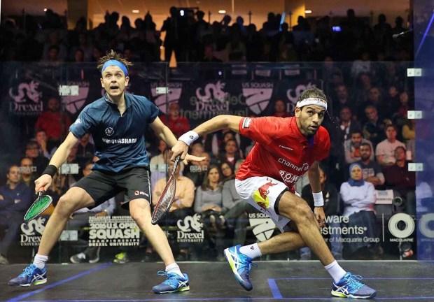 Mohamed Elshorbagy and James Willstrop
