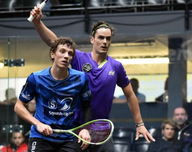 Paul Coll (right) and Lucas Serme