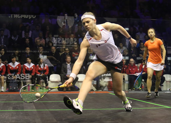 Sarah Jane Perry looks in control