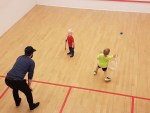 World Squash Day Daryl Selby & Sons