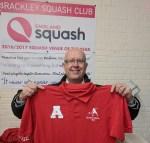 Andy Bright Chairman Brackley Squash
