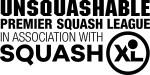 USQ Premier League Squash Black v2