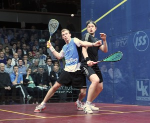 Nick Matthew (left) and James Willstrop will be enjoying home advantage in Yorkshire