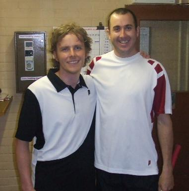 Some famous visitors to Bexley Park in 2008