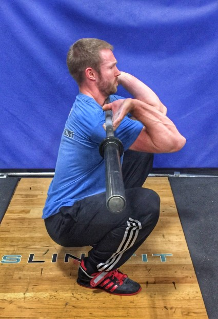 Front Squat Bottom