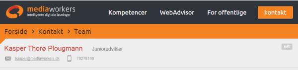 Jeg er en del af MediaWorkers-teamet